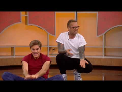 Bob Harper and Dr. Oz Work Out