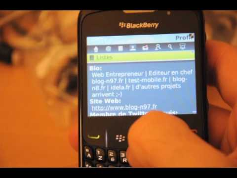 Test du BlackBerry Curve 8520 par Test-Mobile.fr