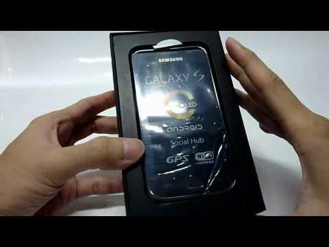 Unboxing Samsung Galaxy S I9000 16GB!