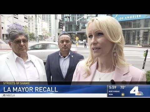 Downtown LA woman leads effort to recall Mayor Eric Garcetti