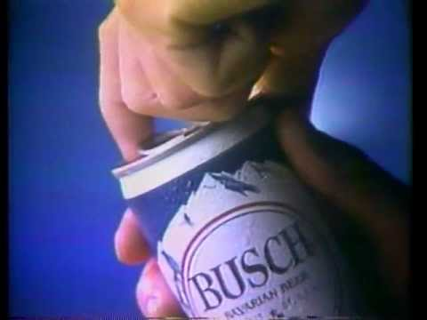 Busch Beer Ad  April 1978