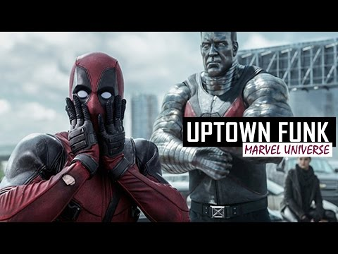 Uptown Funk | Marvel Universe | Funny Music Video