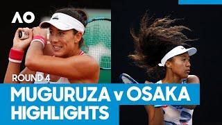 Garbiñe Muguruza vs Naomi Osaka Match Highlights (4R) | Australian Open 2021