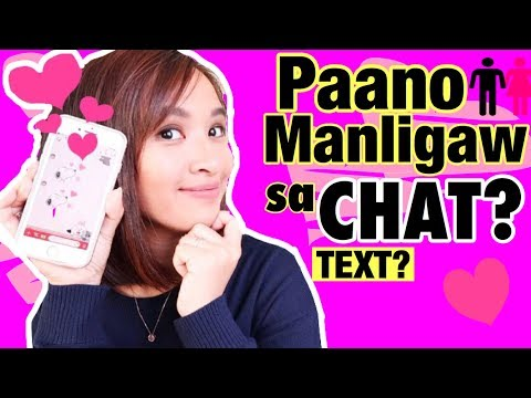Paano Manligaw Sa Chat Kay Crush