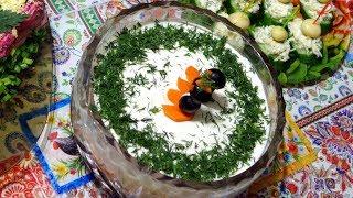 салат морское наслаждение (с тунцом) - рецепты салатов