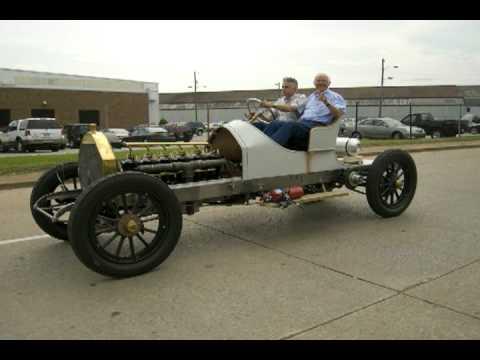 1910 Thomas Flyer Race Car - YouTube