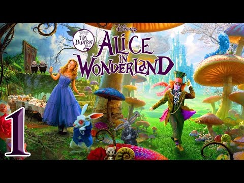 Tim Burton's Alice in Wonderland (PC) - 1080p HD Walkthrough (100%) Part 1 - Strange Garden