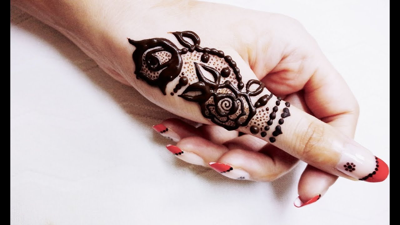 Cute Henna Designs: Cute Little Thumb Henna Design😍