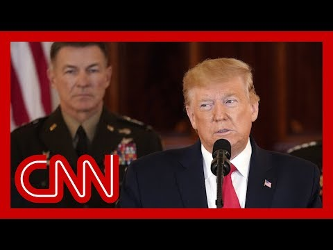 Watch President Trump's Speech After Iran's Strike