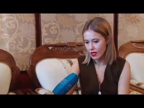 Интервью Ксении Собчак для НТС