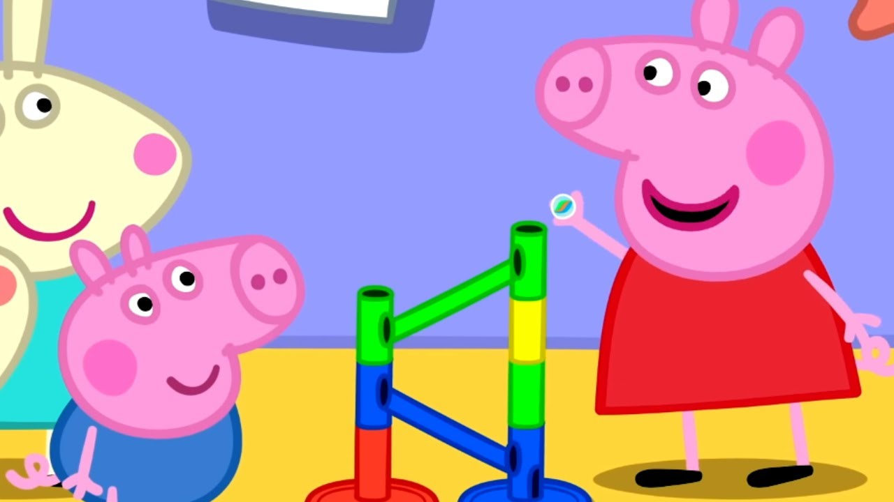 Download Peppa Pig Official Channel | The Biggest Marble Run Challenge with Peppa Pig