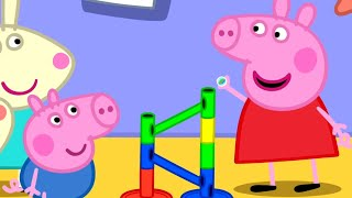 Download lagu Peppa Pig Official Channel | The Biggest Marble Run Challenge with Peppa Pig
