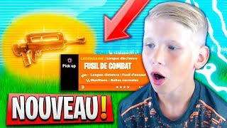 "NEW ARME ""FAMAS"" IS TROP CHEATED ON FORTNITE BATTLE ROYALE 😱"