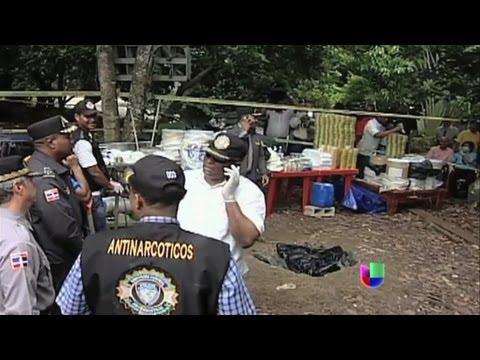 República Dominicana desmanteló narcolaboratorio - Noticiero Univisión
