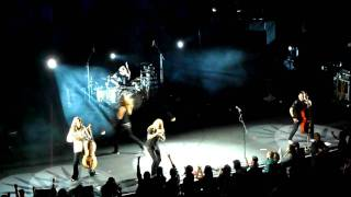 Apocalyptica - End of Me feat. Tipe Johnson (Live GDL 09-01-2012)