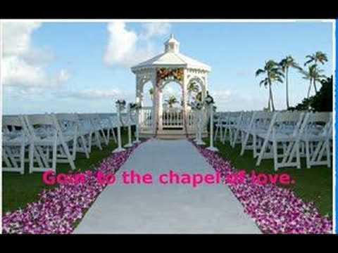 goin to the chapel lyrics