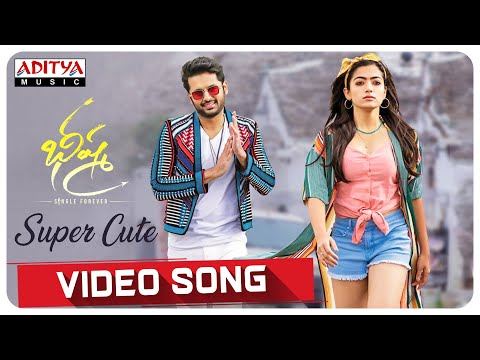 Super Cute Video Song From Bheeshma Movie | Nithiin, Rashmika