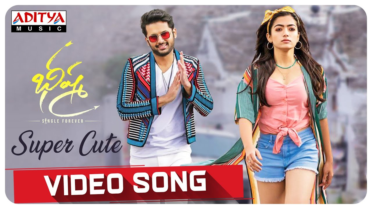 Super Cute Video Song Bheeshma Movie Nithiin Rashmika Venky Kudumula Mahati Swara Sagar Youtube