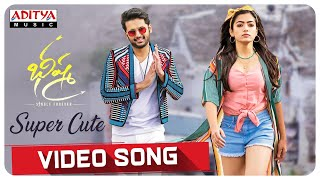 Super Cute Video Song | Bheeshma Movie | Nithiin, Rashmika| Venky Kudumula | Mahati Swara Sagar