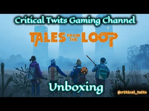 Tales From the Loop RPG Kickstarter Unboxing - Stranger Thin