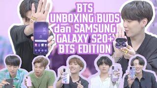 [HD | SUB INDO] BTS UNBOXING SAMSUNG X BTS EDITION