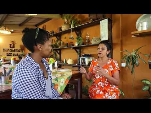 Nikiwe explores Creole food with a local chef