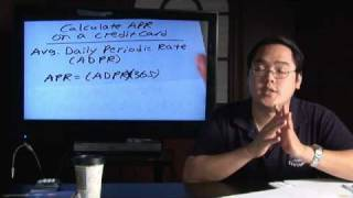 Math in Daily Life : How to Calculate the APR on a Credit Card