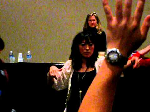 Veronica Taylor and Misako Rocks! at NYCC / NYAF 2010 - Voice and Art Panel Part 1/4