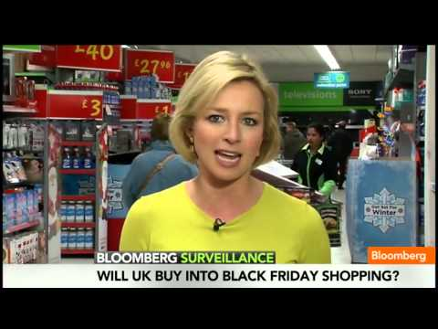 Retailers Bring Black Friday to the U K   Video   Bloomberg