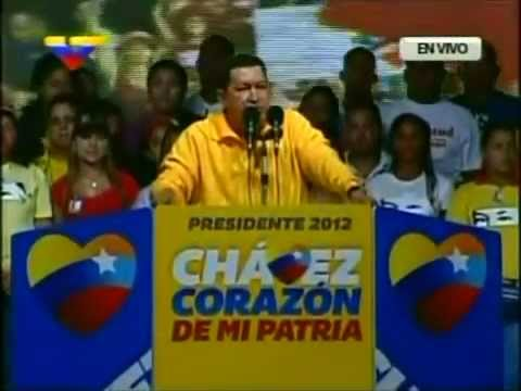 29 Sep 2012 Hugo Chávez en Guarenas, Miranda Videos De Viajes