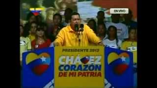 29 Sep 2012 Hugo Chávez en Guarenas, Miranda