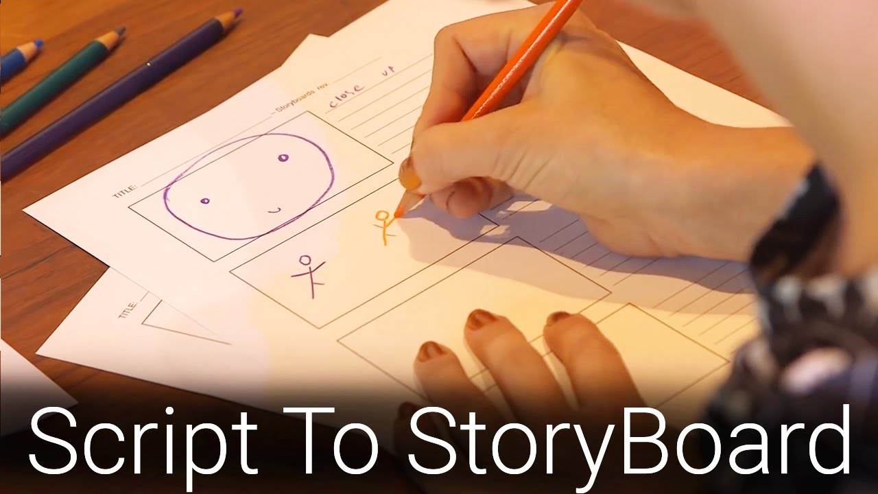 How To Create a Storyboard (ft. Mary Doodles & Whitney Lee Milam)