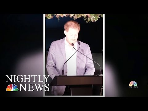 Prince Harry Speaks Up After Royal Split: 'Our Hope Was To Continue Serving The Queen' |Nightly News