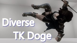 Skyrim mix animation - Diverse TK Dodge