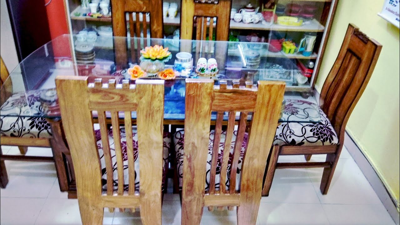 How To Clean Fabrics Dining Table And Wooden Chair Home Care Tips In Hindi फर न चर क य र ट प स