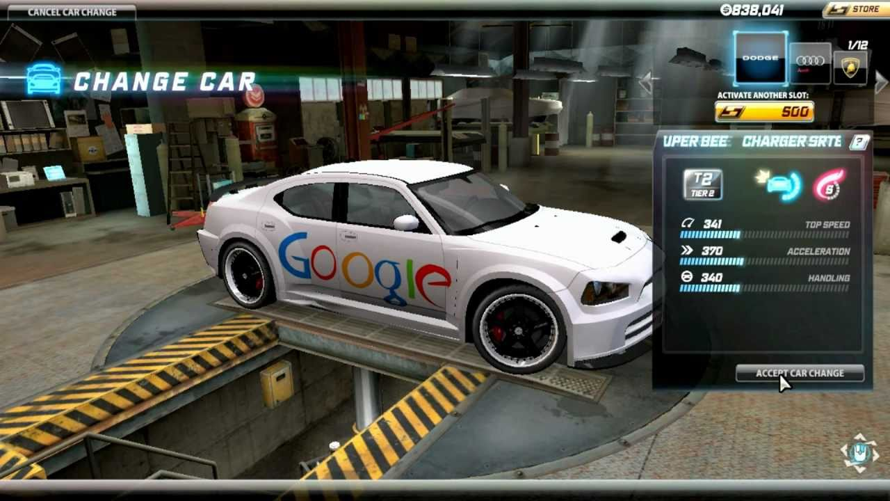 first car google invented on Need For speed World preview