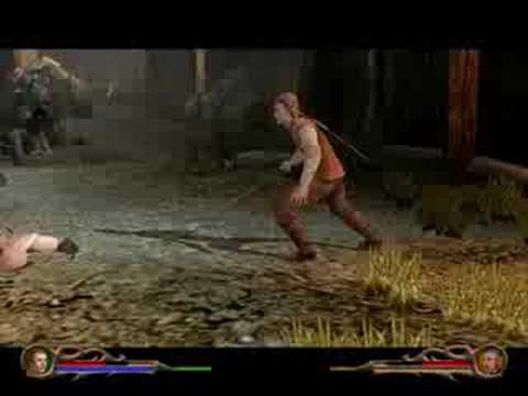 Eragon Walkthrough Level 4 - Daret Town -...