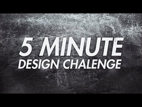 5 MINUTE DESIGN CHALLENGE! *Special Edition*
