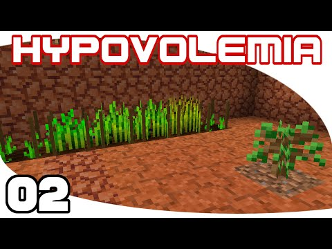 Hypovolemia - Ep. 2: Growing Stuff | Hypovolemia Minecraft M