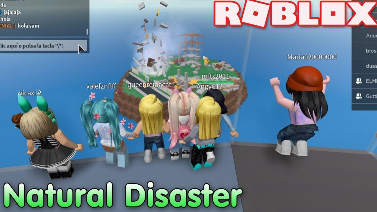 🎮Roblox Natural Disaster!! Tenemos Que Aguantar!! Juego Con Subs y Gutii!