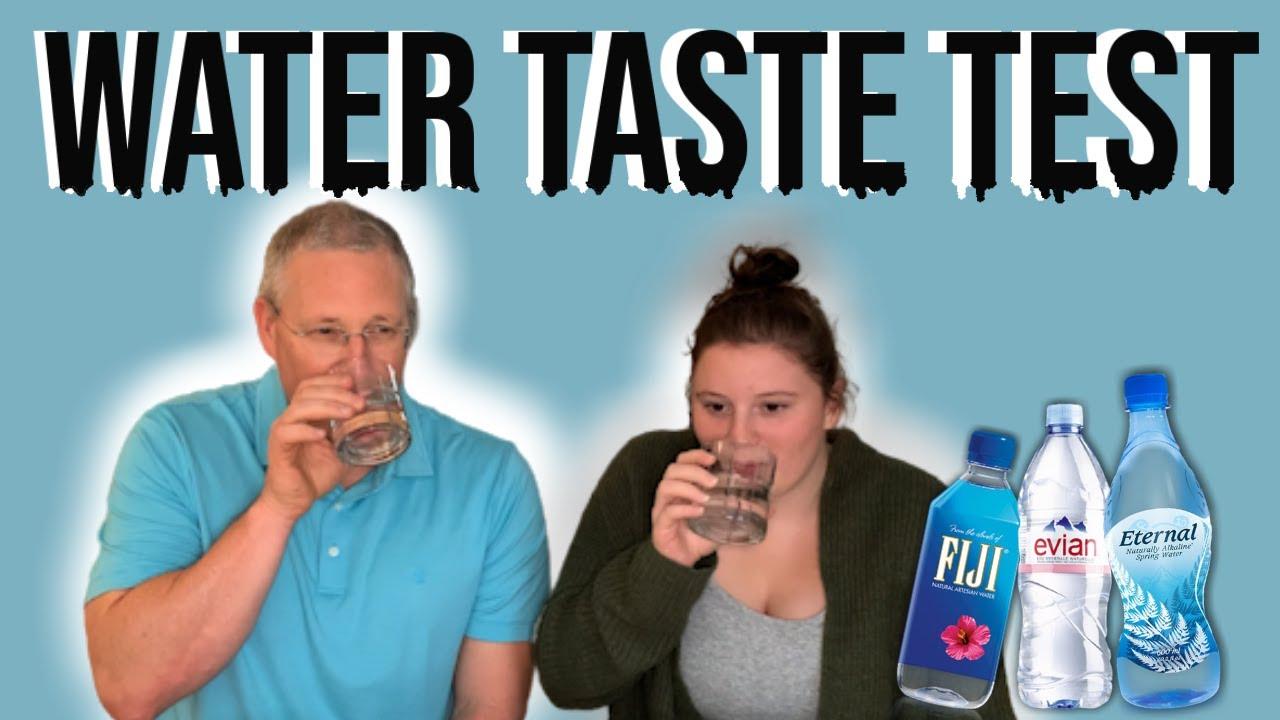 What's The Best Tasting Bottled Water? - Blind Taste Test