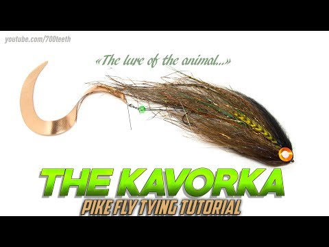 Tying the Kavorka pike fly - fly tying tutorial