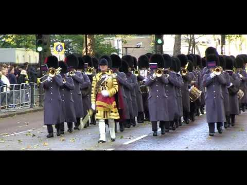 Remembrance Sunday 2013, London: The Military Bands