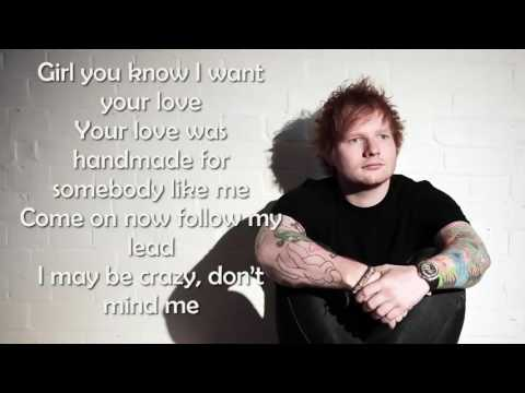 Ed Sheeran - Shape of you Lyrics