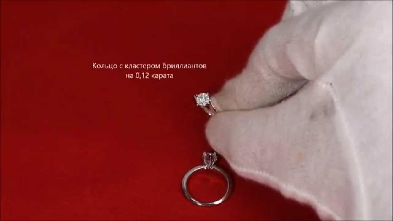 0d331800b490 Как отличить бриллиант от подделки, фианита на глаз, в кольце - YouTube