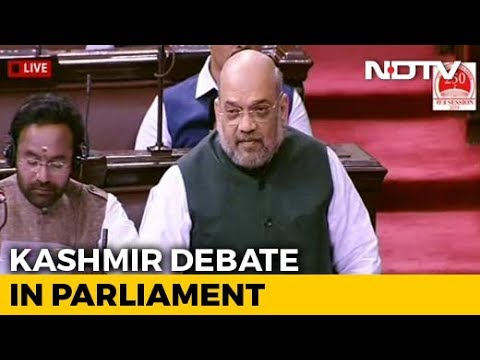 Internet Curb In Kashmir Will Be Lifted At 'Appropriate Time': Amit Shah In Rajya Sabha