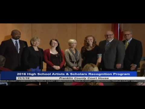 Franklin County High School Artists and Scholars Recognition