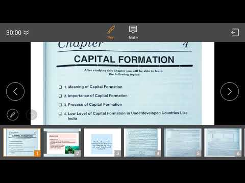 Capital Formation in Hindi Part 1