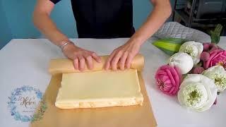 Cách làm bánh bông lan trứng muối (công thức chi tiết) - Savoury Sponge Cake Recipe