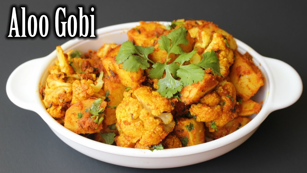 Dhaba Style Aloo Gobi Recipe | Delicious Aloo Gobi Sabzi ...